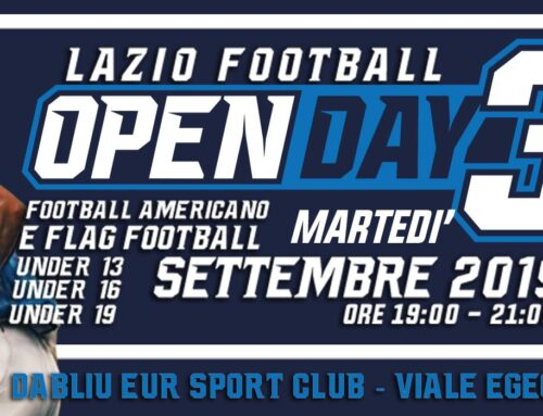 OPEN DAY LAZIO FOOTBALL
